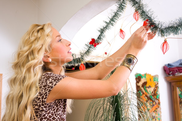 Decorating 1 Stock photo © Lighthunter