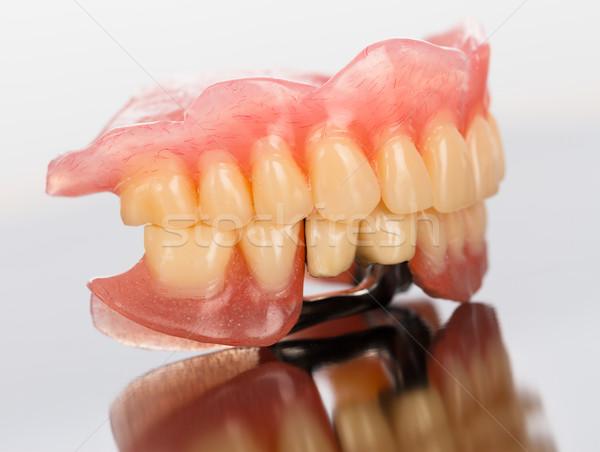 Prosthetic dental products Stock photo © Lighthunter