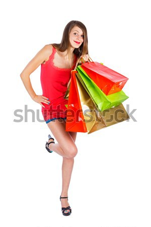 Joy of Spare Time - Shopping Stock photo © Lighthunter