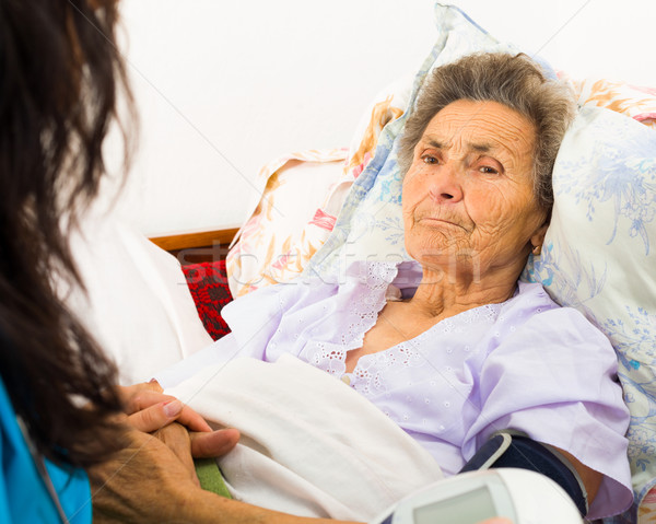 Caring for Senior Patient Stock photo © Lighthunter