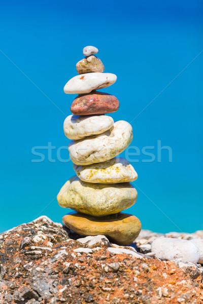 работу искусства запустить камней вместе Сток-фото © Lighthunter