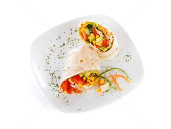 Vegetariano paleo legumes fresco Foto stock © Lighthunter
