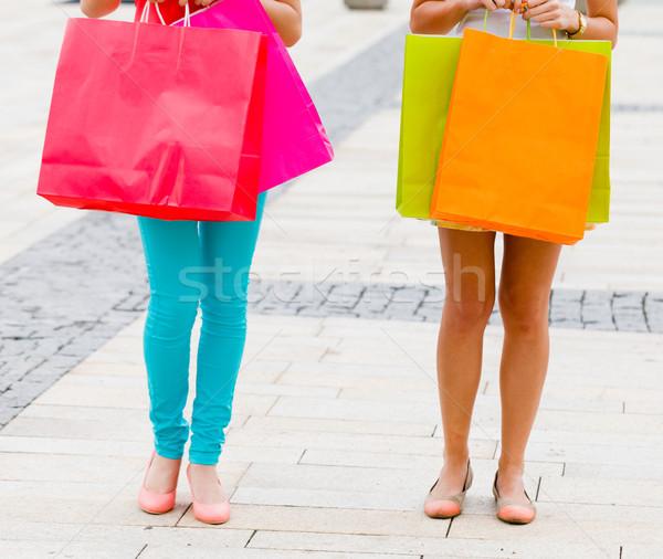 Women Gone Shopping Stock photo © Lighthunter