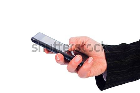 Texting on Smartphone Stock photo © Lighthunter