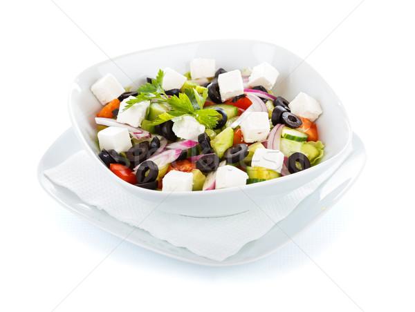 Greek Salad Stock photo © Lighthunter