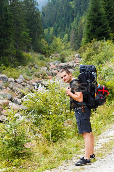 Traveling Man Stock photo © Lighthunter