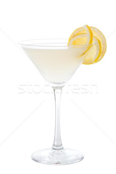 Lemon Tartini Cocktail Stock photo © Lighthunter