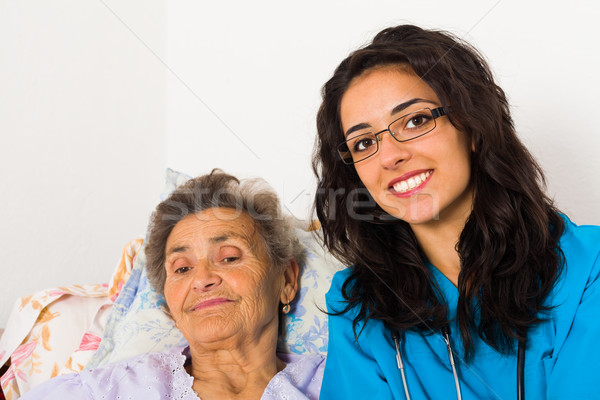 Social Care at Home Stock photo © Lighthunter