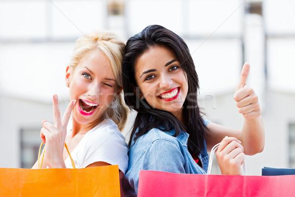 Fun with Women Stock photo © Lighthunter
