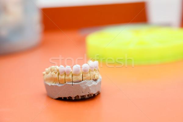 Zircon teeth Stock photo © Lighthunter