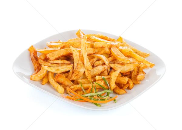 Fryed poato chips Stock photo © Lighthunter