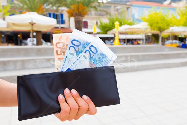 Scump vacanţă portofel exotic recurge cheltuielile Imagine de stoc © Lighthunter