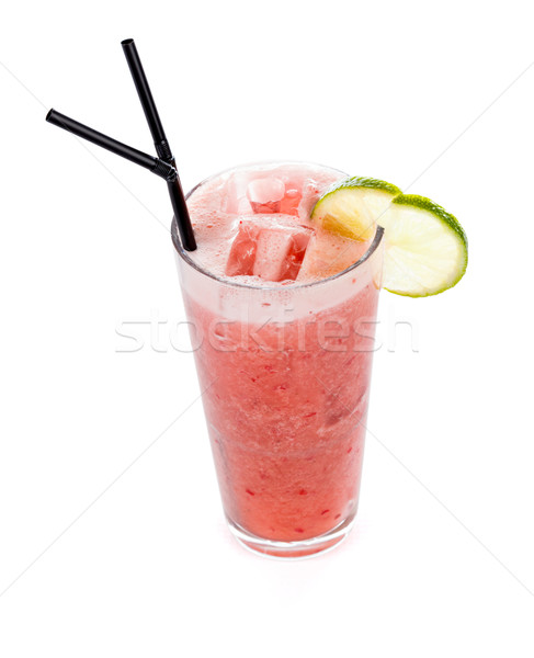 Strawberry Dream Non Alcoholic Cocktail Stock photo © Lighthunter