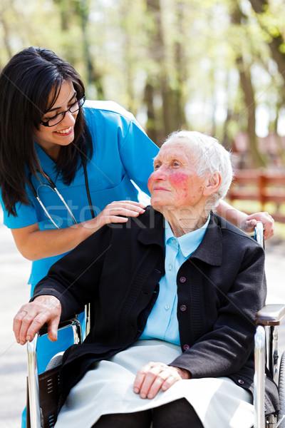 Nursing Home Stock photo © Lighthunter