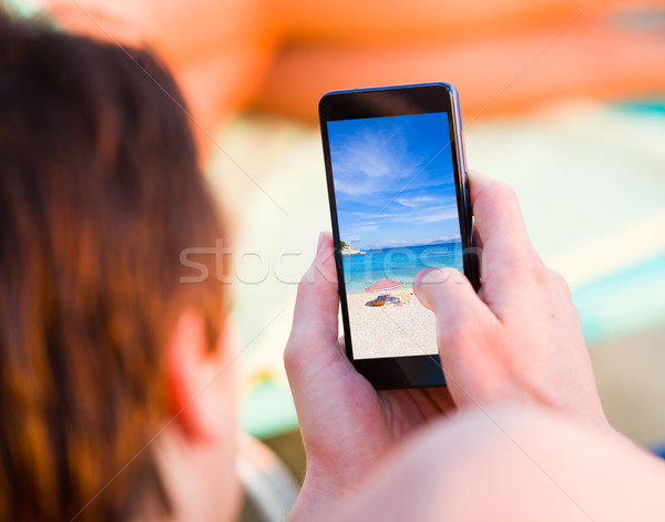 Online trip advisor Stock photo © Lighthunter