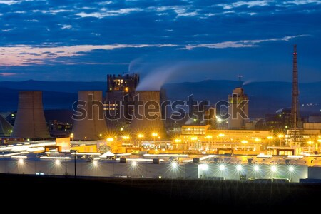 Industrial buildings Stock photo © Lighthunter
