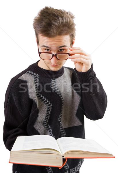Smart guy Stock photo © Lighthunter