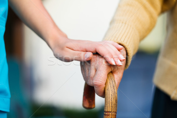 Helping the Elderly Stock photo © Lighthunter