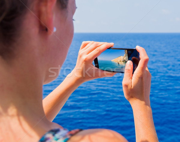 Stock photo: Traveling through seas and oceans