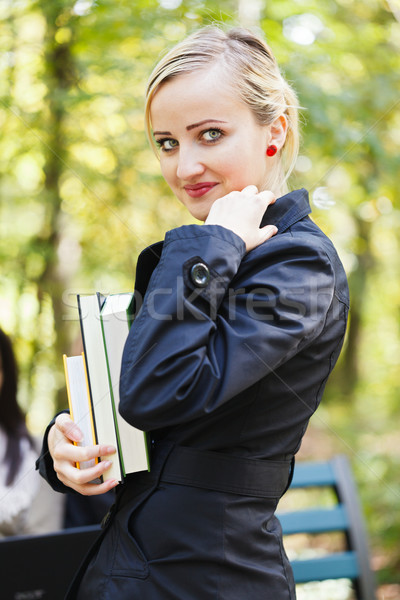 Scholar Girl Stock photo © Lighthunter