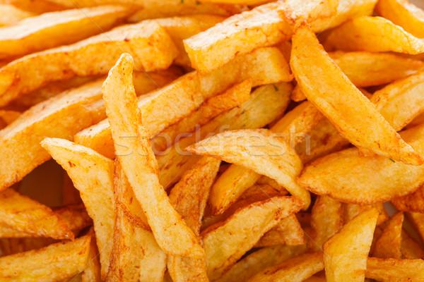 Fryed potatoes Stock photo © Lighthunter