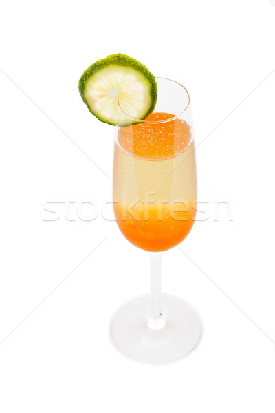 Bellini Champagne Cocktail Stock photo © Lighthunter