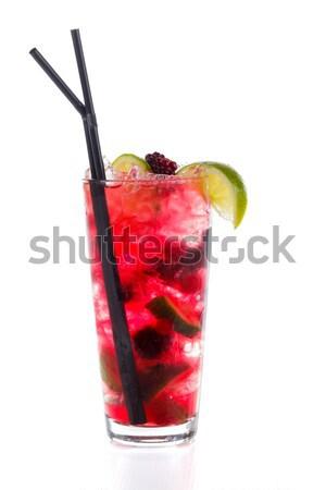 Regenboog mojito koud speciaal cocktail Stockfoto © Lighthunter