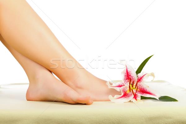 Legs Relaxing Stock photo © Lighthunter
