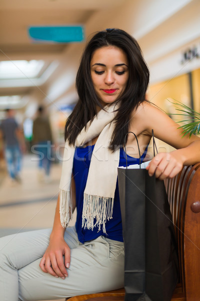 Wat verrassing hier ongeduldig vrouw Stockfoto © Lighthunter
