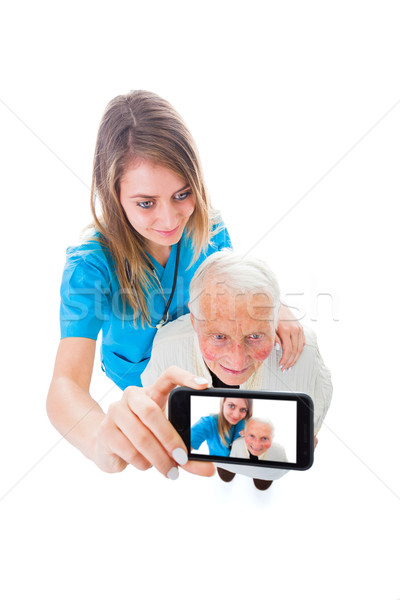 Residential care good conditions Stock photo © Lighthunter