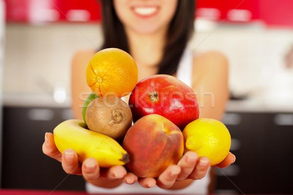 Handful Fruits Stock photo © Lighthunter