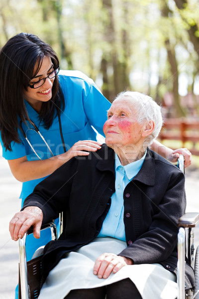 Nursing Home Stock photo © Lighthunter