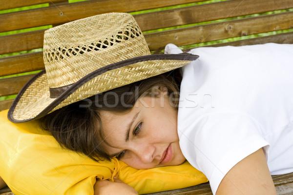 Sleepy Stock photo © Lighthunter