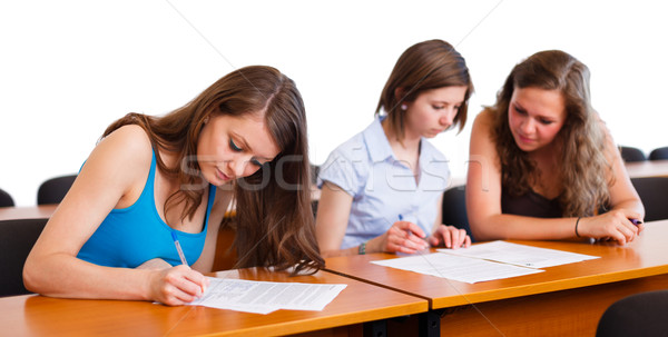 Girl During Finals Stock photo © Lighthunter