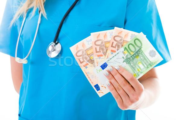 Servicios costo dinero resumen imagen médicos Foto stock © Lighthunter