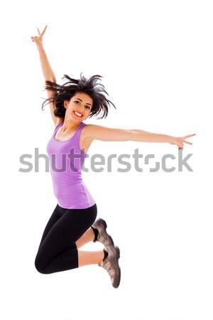 Jumping High Stock photo © Lighthunter
