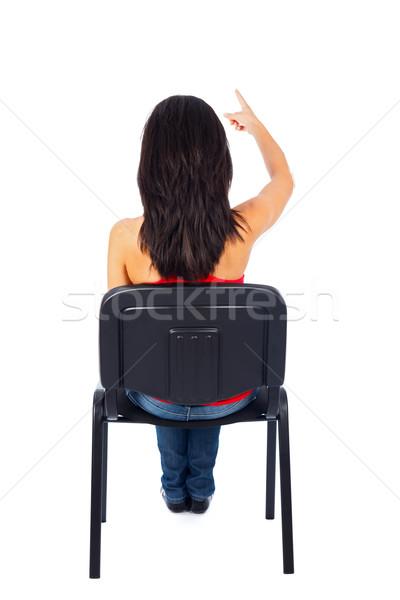 Threatening Gesture Stock photo © Lighthunter