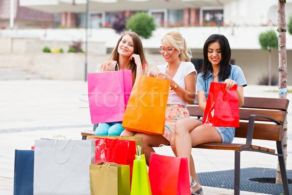 When Women Go Shopping Stock photo © Lighthunter