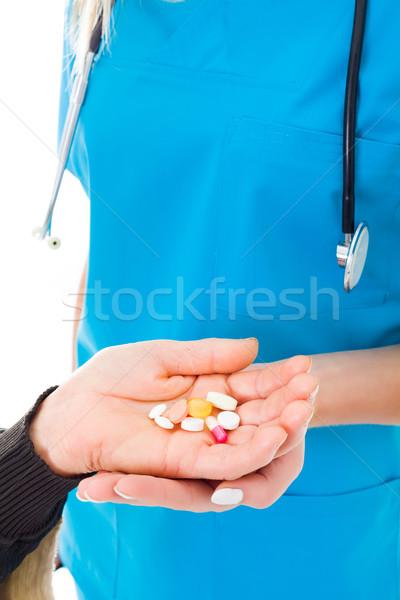 Too much medication Stock photo © Lighthunter
