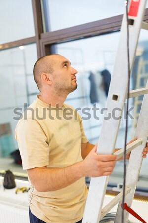Serviceman Helping Stock photo © Lighthunter