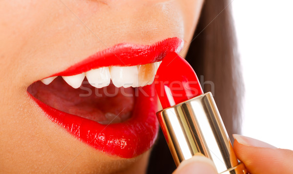 Perfect Lips only with the Best Lipstick Stock photo © Lighthunter