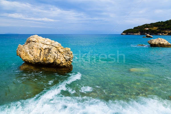 Waves of the Ionian sea Stock photo © Lighthunter
