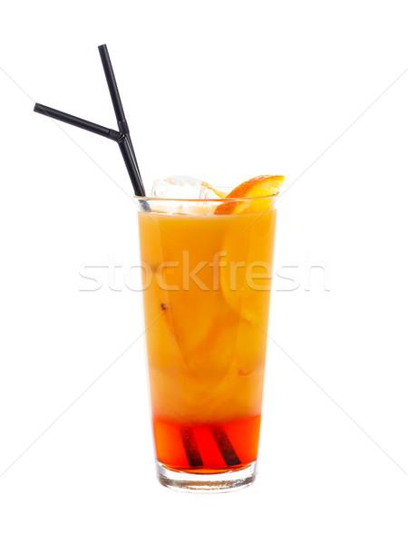 Campari Orange Cocktail Stock photo © Lighthunter