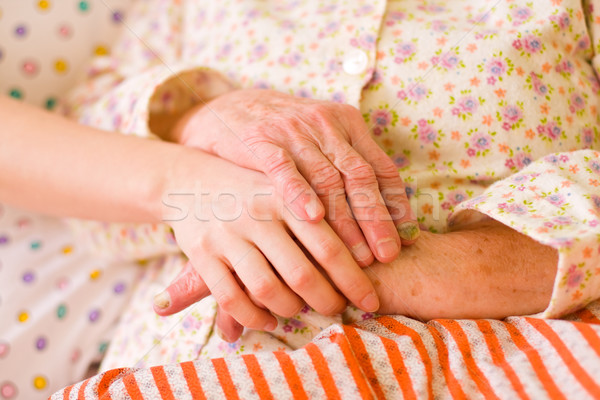 Caring hands - helping the needy Stock photo © Lighthunter