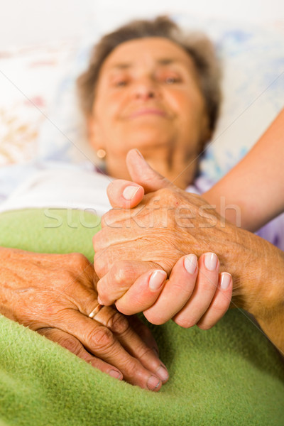 Care Love and Trust for Elders Stock photo © Lighthunter