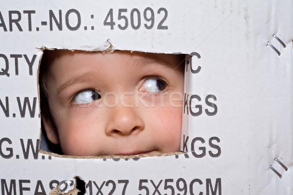 Boxed fun Stock photo © lightkeeper