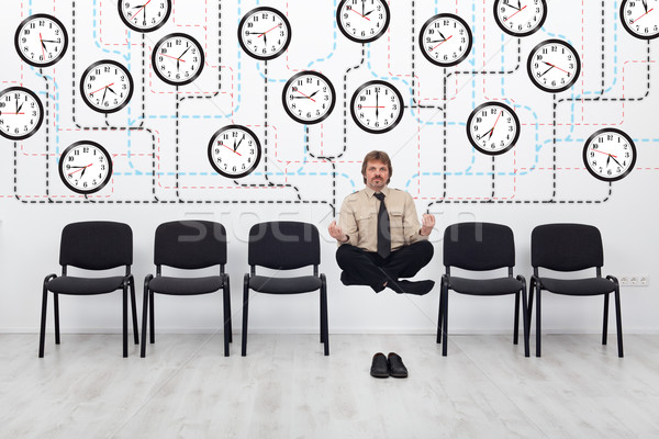 Expert time management Stock photo © lightkeeper