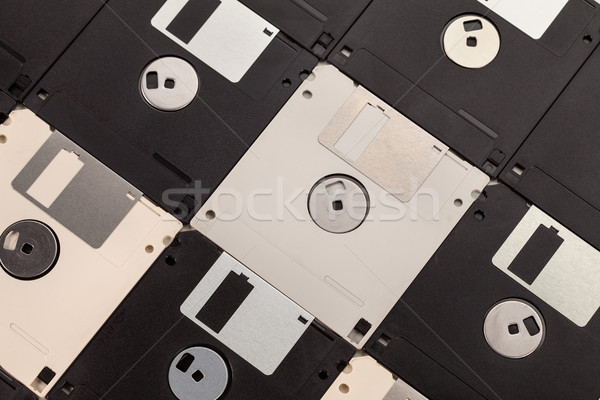 Computer floppy diskettes background Stock photo © lightkeeper