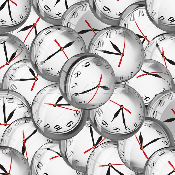órák buborékok határidők időbeosztás óra arcok Stock fotó © lightkeeper