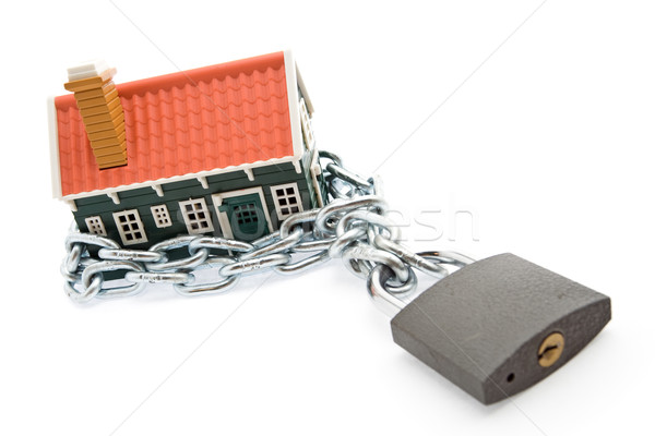 Foreclosure and mortgage concept Stock photo © lightkeeper